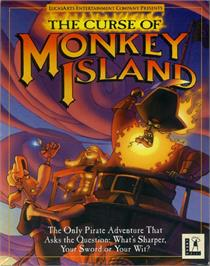 Box cover for Curse of Monkey Island on the ScummVM.