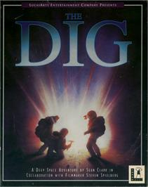 Box cover for Dig on the ScummVM.
