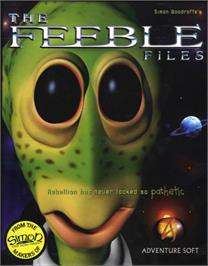 Box cover for Feeble Files on the ScummVM.