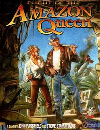 Box cover for Flight of the Amazon Queen on the ScummVM.