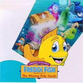 Box cover for Freddi Fish: The Case of the Haunted Schoolhouse on the ScummVM.