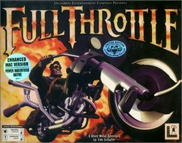 Box cover for Full Throttle on the ScummVM.