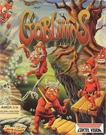 Box cover for Gobliiins on the ScummVM.