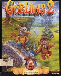 Box cover for Gobliins 2: The Prince Buffoon on the ScummVM.