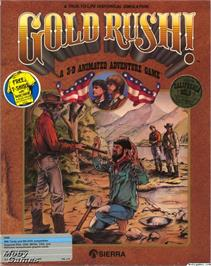 Box cover for Gold Rush on the ScummVM.