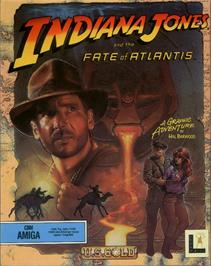Box cover for Indiana Jones and the Fate of Atlantis on the ScummVM.