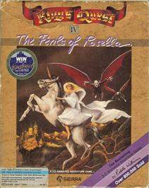 Box cover for King's Quest IV: The Perils of Rosella on the ScummVM.