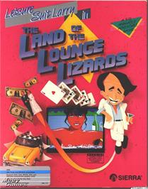 Box cover for Leisure Suit Larry in the Land of the Lounge Lizards on the ScummVM.