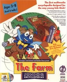 Box cover for Let's Explore the Farm with Buzzy on the ScummVM.