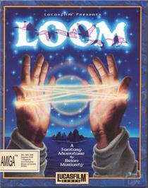 Box cover for Loom on the ScummVM.