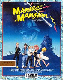 Box cover for Maniac Mansion on the ScummVM.