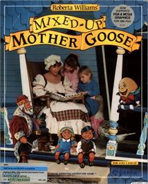 Box cover for Mixed-Up Mother Goose on the ScummVM.