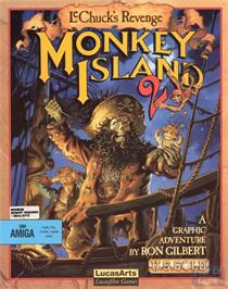 Box cover for Monkey Island 2: LeChuck's Revenge on the ScummVM.