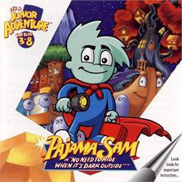 Box cover for Pajama Sam: Thunder and Lightning aren't so Frightening on the ScummVM.