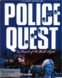 Box cover for Police Quest: In Pursuit of the Death Angel on the ScummVM.