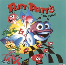 Box cover for Putt-Putt's Fun Pack on the ScummVM.