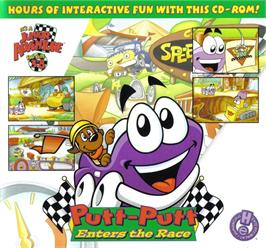 Box cover for Putt-Putt Enters the Race on the ScummVM.