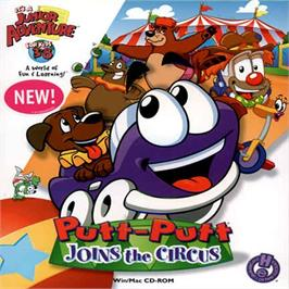 Box cover for Putt-Putt Joins the Circus on the ScummVM.