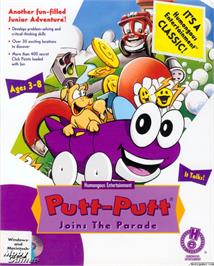 Box cover for Putt-Putt Joins the Parade on the ScummVM.