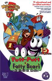 Box cover for Putt-Putt and Fatty Bear's Activity Pack on the ScummVM.