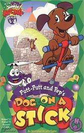 Box cover for Putt-Putt and Pep's Dog on a Stick on the ScummVM.