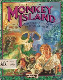 Box cover for Secret of Monkey Island on the ScummVM.