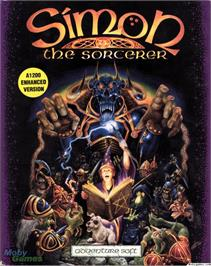 Box cover for Simon the Sorcerer on the ScummVM.
