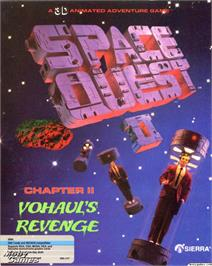 Box cover for Space Quest II: Vohaul's Revenge on the ScummVM.