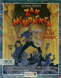 Box cover for Zak McKracken and the Alien Mindbenders on the ScummVM.