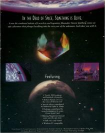 Box back cover for Dig on the ScummVM.