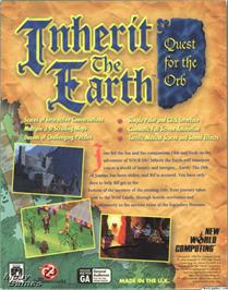 Box back cover for Inherit the Earth: Quest for the Orb on the ScummVM.
