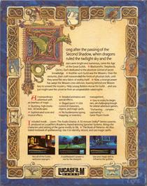 Box back cover for Loom on the ScummVM.