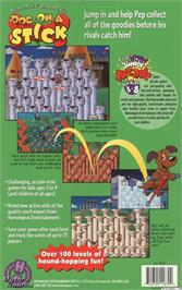 Box back cover for Putt-Putt and Pep's Dog on a Stick on the ScummVM.