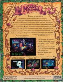 Box back cover for Secret of Monkey Island on the ScummVM.