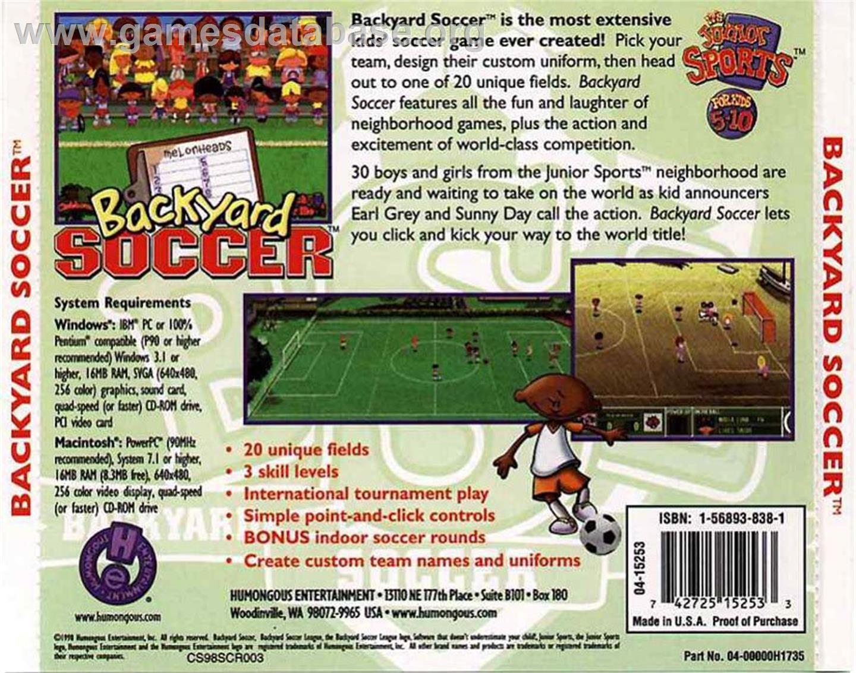 box back cover for backyard soccer on the scummvm