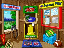 In game image of Backyard Football on the ScummVM.