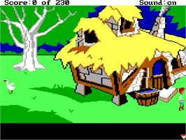 In game image of Black Cauldron on the ScummVM.
