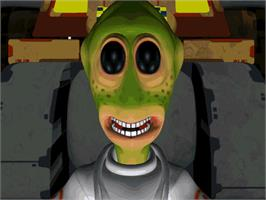 In game image of Feeble Files on the ScummVM.