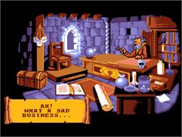In game image of Gobliins 2: The Prince Buffoon on the ScummVM.