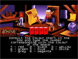 In game image of Goblins Quest 3 on the ScummVM.