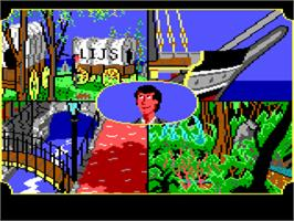 In game image of Gold Rush on the ScummVM.