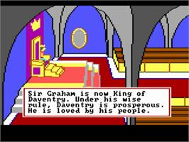 In game image of King's Quest II: Romancing the Throne on the ScummVM.