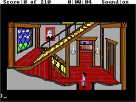 In game image of King's Quest III: To Heir is Human on the ScummVM.