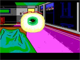 In game image of Manhunter: New York on the ScummVM.