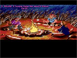 In game image of Monkey Island 2: LeChuck's Revenge on the ScummVM.