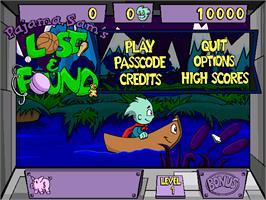 In game image of Pajama Sam's Lost & Found on the ScummVM.