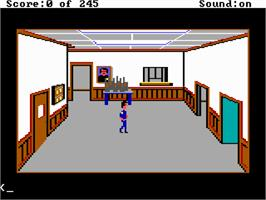 In game image of Police Quest: In Pursuit of the Death Angel on the ScummVM.