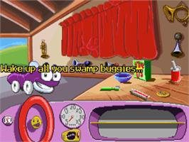 In game image of Putt-Putt Joins the Parade on the ScummVM.