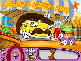 In game image of Putt-Putt Saves the Zoo on the ScummVM.