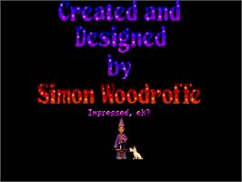 In game image of Simon the Sorcerer on the ScummVM.